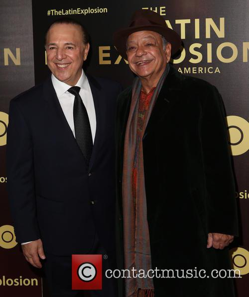 Tommy Mottola and Cheech Marin 1