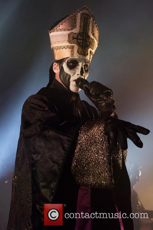 Ghost and Papa Emeritus Ii 11