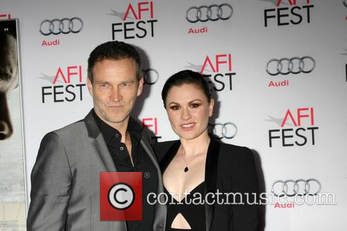 Stephen Moyer and Anna Paquin 7