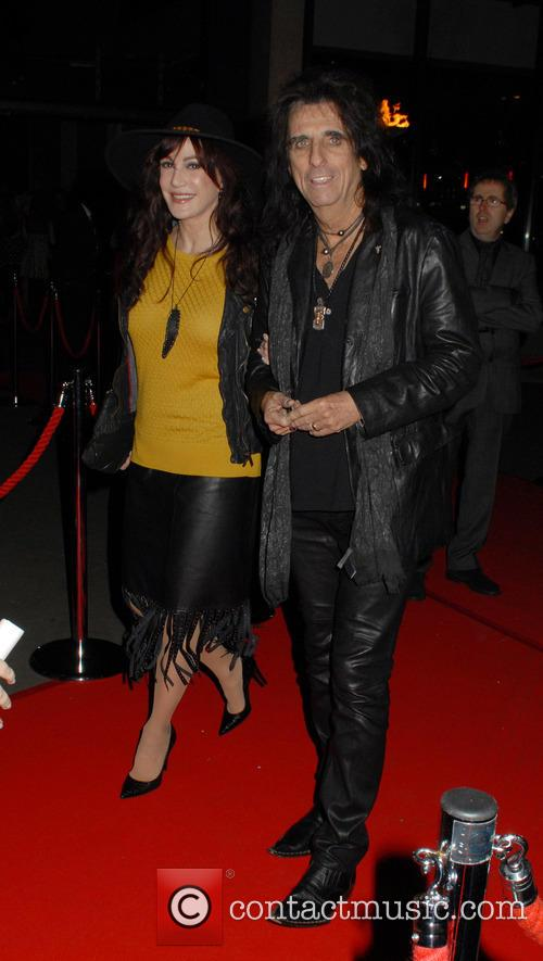 Sheryl Goddard and Alice Cooper 1