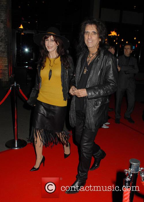Sheryl Goddard and Alice Cooper 2