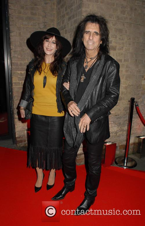 Sheryl Goddard and Alice Cooper 5
