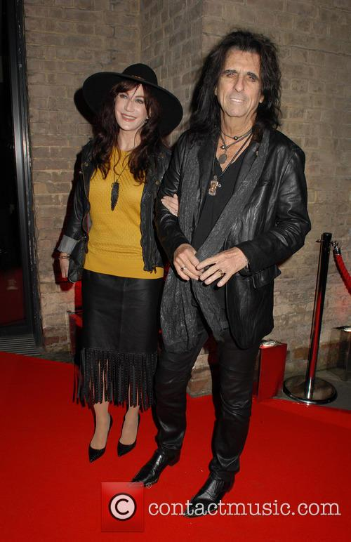 Sheryl Goddard and Alice Cooper 6