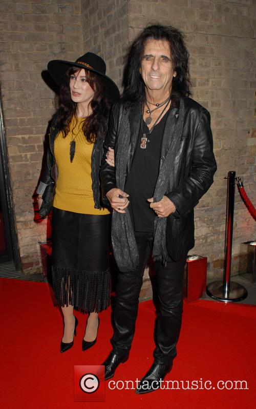 Sheryl Goddard and Alice Cooper 7