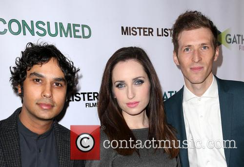 Kunal Nayyar, Zoe Lister-jones and Daryl Wein 8