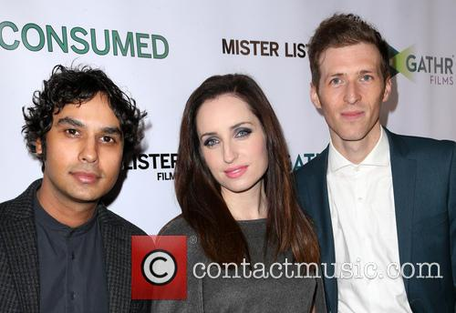 Kunal Nayyar, Zoe Lister-jones and Daryl Wein 9