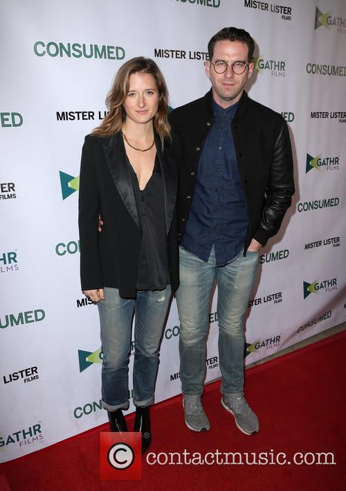 Grace Gummer and Boyfriend 2