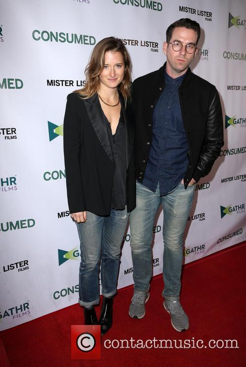 Grace Gummer and Boyfriend 5