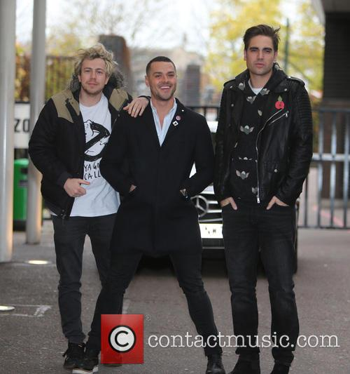 James Bourne, Matt Willis, Charlie Simpson and Busted 1