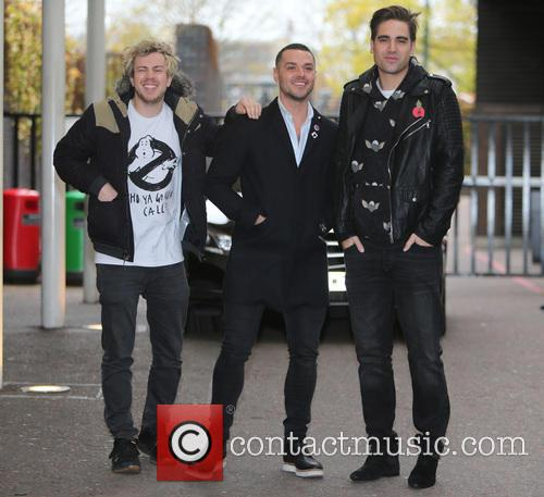 James Bourne, Matt Willis, Charlie Simpson and Busted 3
