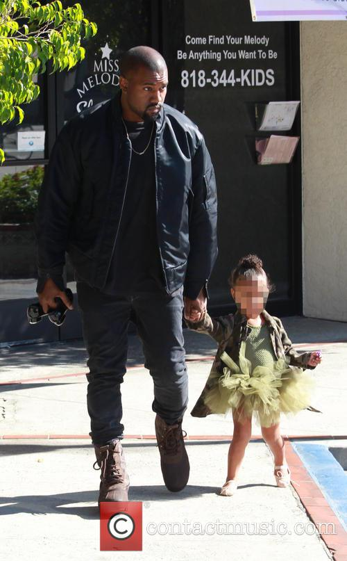 Kanye West and North West 1