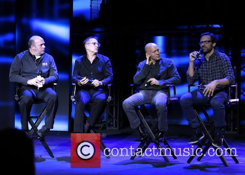Blue Man Group, Jack Kenn, Phil Stanton, Chris Wink and Jeff Turlik 3
