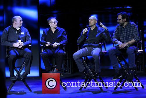 Blue Man Group, Jack Kenn, Phil Stanton, Chris Wink and Jeff Turlik