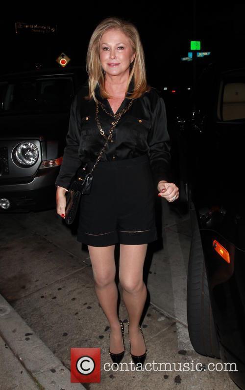Kathy Hilton arriving at Craig's Restaurant