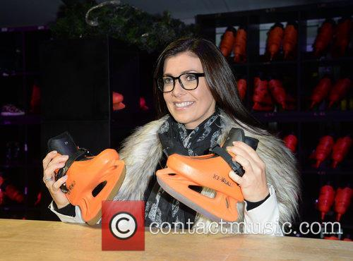 Kym Marsh launches New Bailey's Manchester Ice Rink