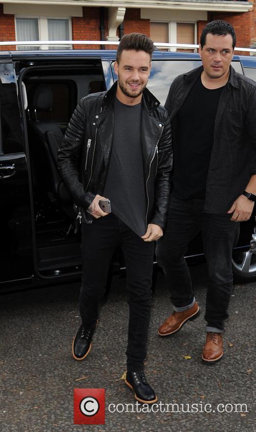 Liam Payne arrives at Maida Vale Studios
