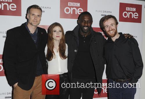 Rose Leslie, Idris Elba, Darren Boyd and John Heffernan 6