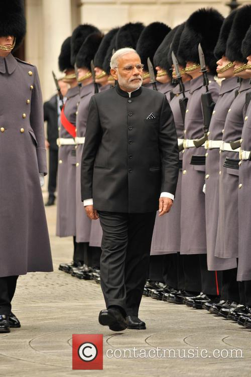 Indian Prime Minister Modi visits the U.K.