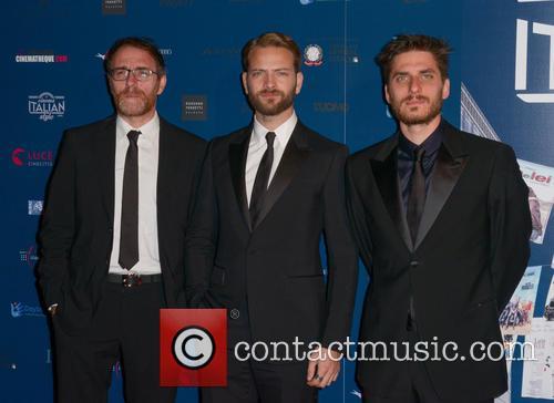 Valerio Mastandrea, Alessandro Borghi and Luca Marinelli 1