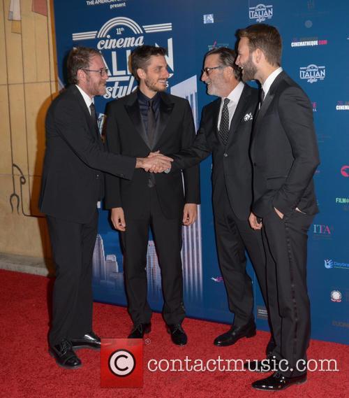 Valerio Mastandrea, Luca Marinelli, Andy Garcia and Allesandro Borghi 4