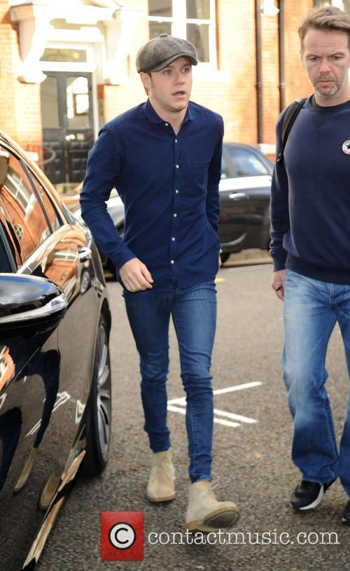 Niall Horan arrives at The Maida Vale Studios