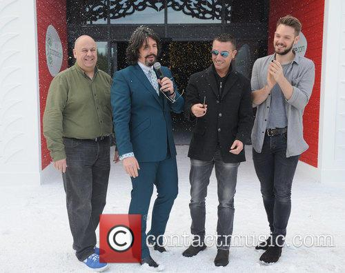 Luis Troyano, Laurence Llewelyn Bowen, Gino Da'campo and John Waite 5