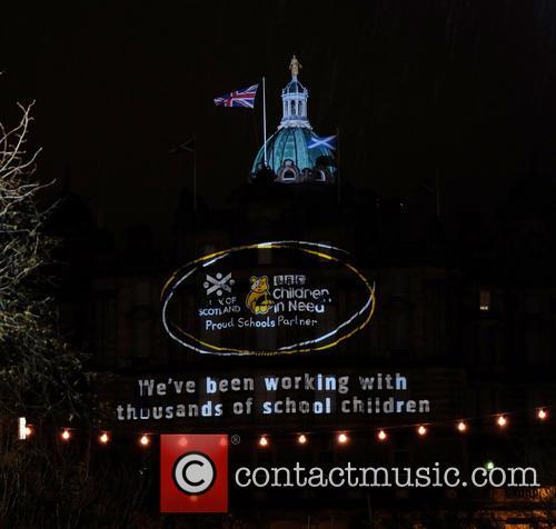 Children In Need, Edinburgh, Friday and November 4