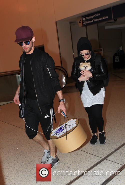 Kelly Osbourne and Jake Thompson 1
