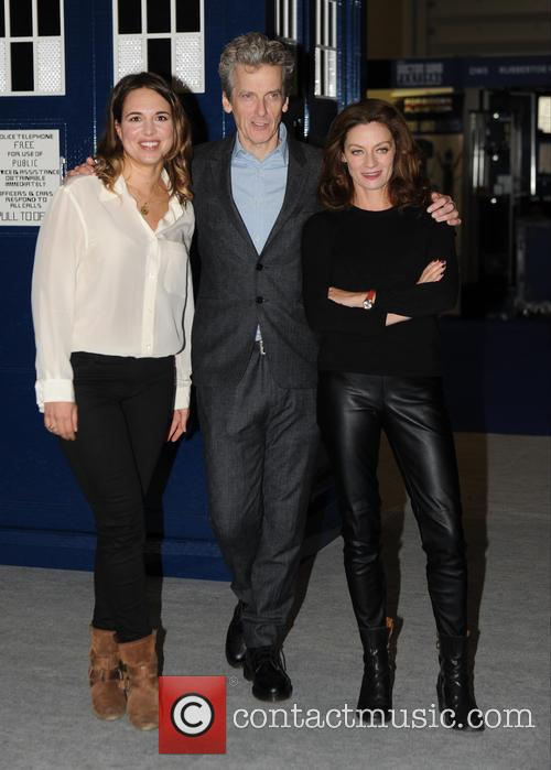 Peter Capaldi, Michelle Gomez and Ingrid Oliver