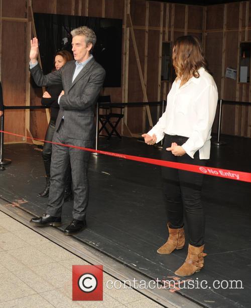 Michelle Gomez, Ingrid Oliver and Peter Capaldi 6