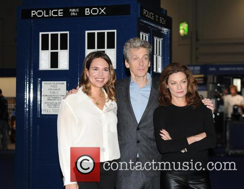 Ingrid Oliver, Michelle Gomez and Peter Capaldi 1