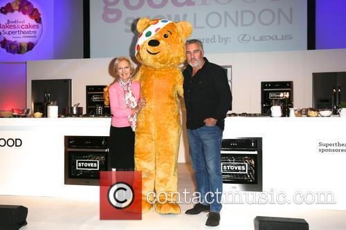 Mary Berry, Paul Hollywood and Pudsey 6