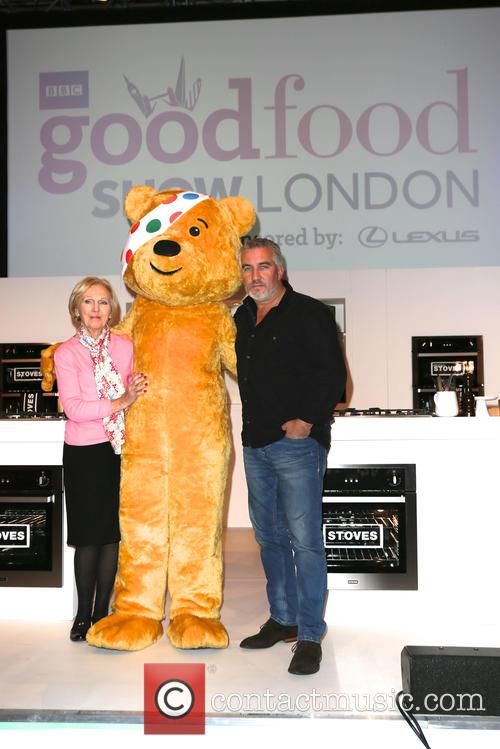Mary Berry, Paul Hollywood and Pudsey 8