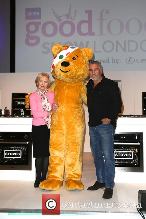 Mary Berry, Paul Hollywood and Pudsey 9