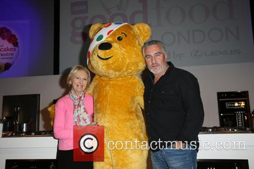Mary Berry, Paul Hollywood and Pudsey 10