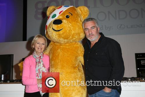 Mary Berry, Paul Hollywood and Pudsey 11