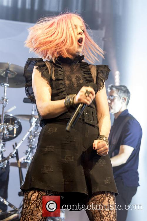 Shirley Manson and Garbage 11