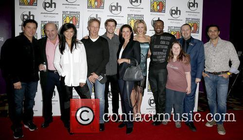 Benito Martinez, Bobby Costanzo, Kelly Hu, Greg Germann, Patrick Schwarzenegger, Mimi Rogers, Kristanna Loken, Roger Cross and Adrian Paul 3