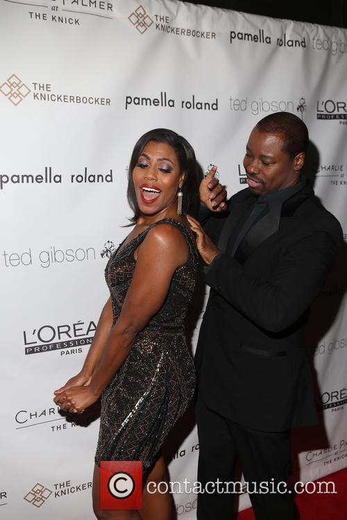Omarosa and Ted Gibson 4