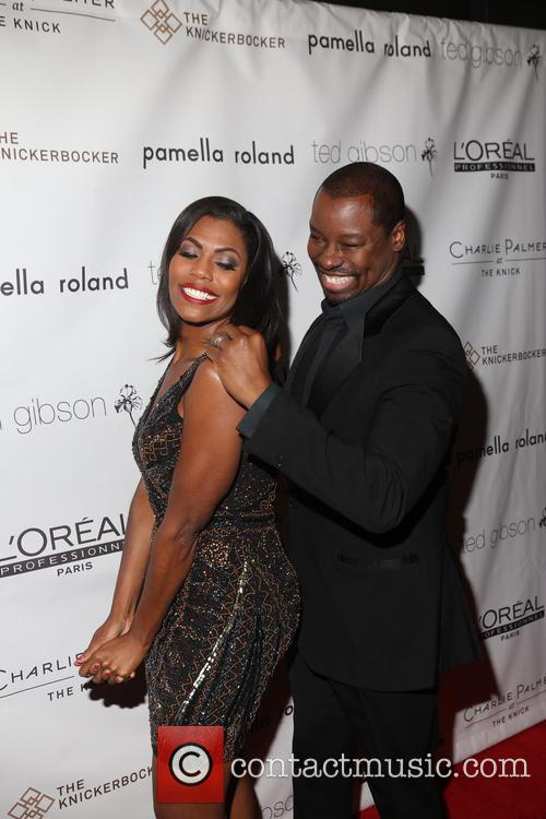 Ted Gibson and Omarosa 10