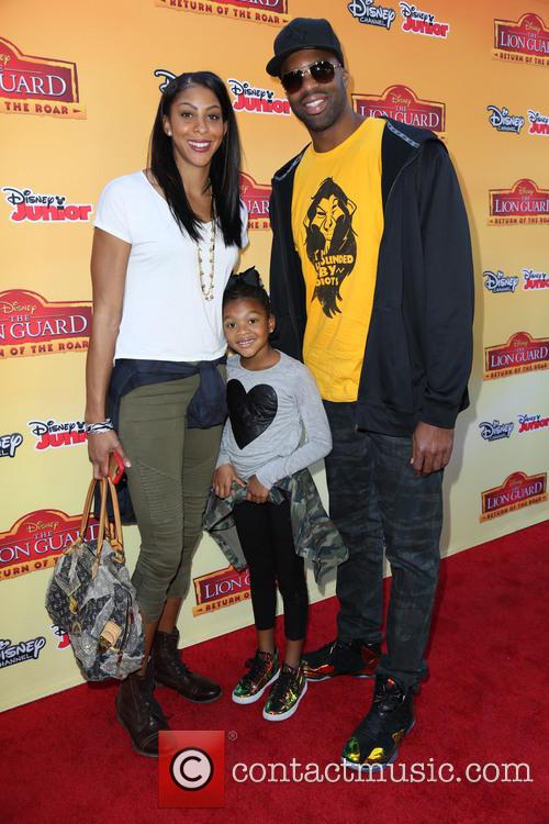 The Lion and Candace Parker 5
