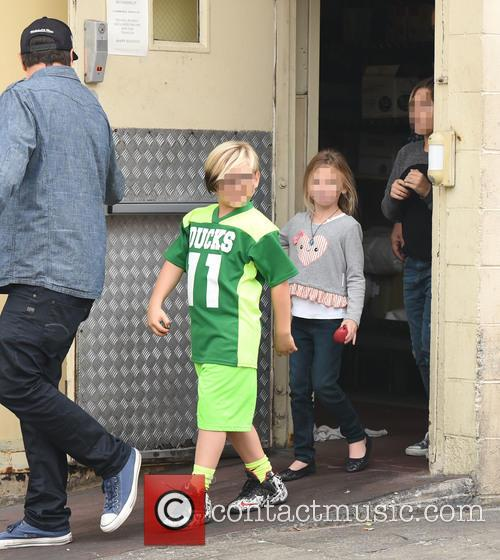 Gwen Stefani, Zuma Rossdale and Kingston Rossdale 11