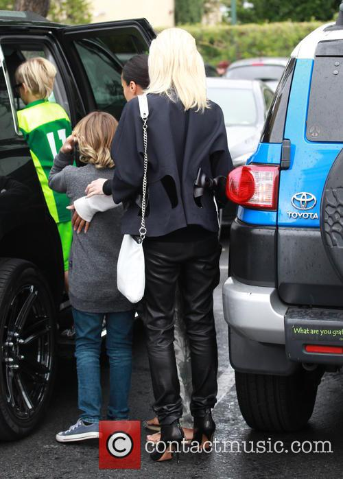 Gwen Stefani, Kingston Rossdale and Zuma Rossdale 9