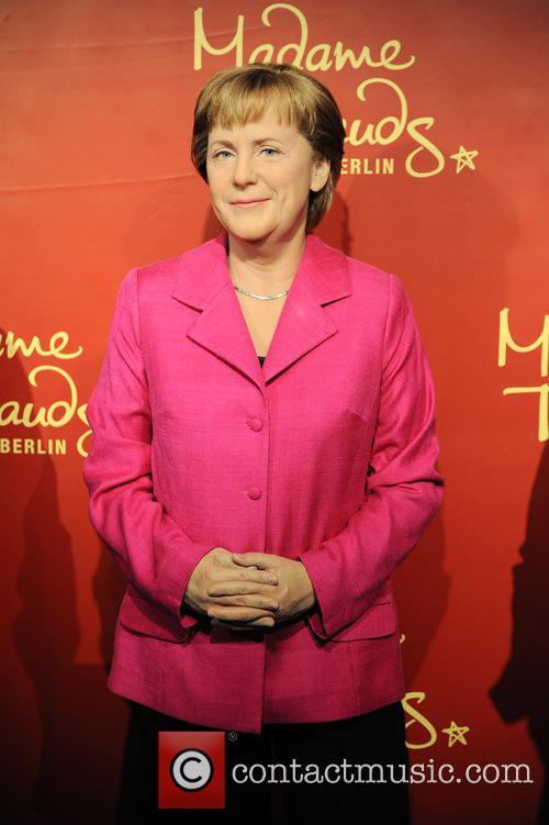 Madame Tussauds celebrates 10 years anniversary of Angela...