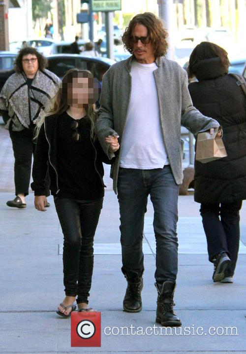 Chris Cornell and Toni Cornell 2
