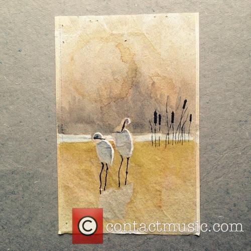 Artist Paints Beautiful Intricate Illustrations On Used Tea...