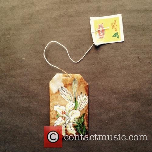Tea Bag Art 11