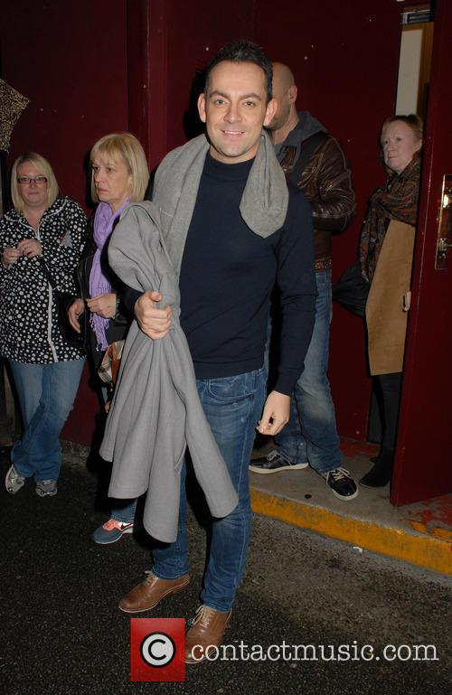 Ben Forster leaving the Dominion Theatre