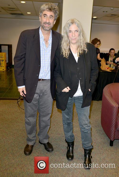 Mitchell Kaplan and Patti Smith 2