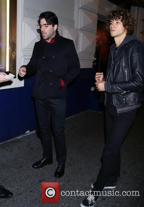 Zachary Quinto and Miles Mcmillan 1